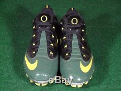 EUC Nike Air Zoom Vapor Carbon Fly TD Oregon Ducks Team Issue Game Used Cleats 9