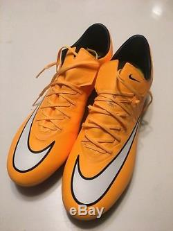 NEW NIKE MERCURIAL VAPOR X SG-PRO US Size 11.5 SOCCER CLEATS FOOTBALL BOOTS