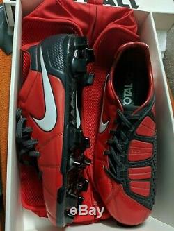 NEW! Nike total 90 Laser ELITE 8US t90 Carbon football boots soccer cleats laser