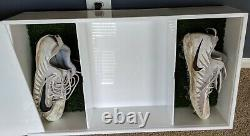 NFL Nike Football Youth FB Captains Alex Smith Game Used Cleats with Special Box