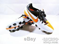 NIKE TOTAL90 LASER IV FG Soccer Cleats Football Boots 472552-180 WHITE US7.5,8