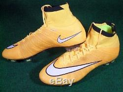 New Nike Mercurial SuperFly IV FG Soccer Cleats Football Boots Laser Orange 13