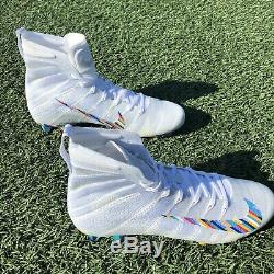 New Nike Vapor Crucial Catch Cancer NFL Pro Cleats Size 11.5