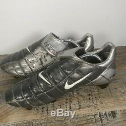 Nike Air Zoom Total 90 II SG UK12 Football Boots Vintage Pro Rare 2003 Cleats