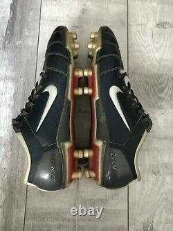 Nike Air Zoom Total 90 III FG Gray Football Cleats Italy US11 UK10 EUR45 Limited