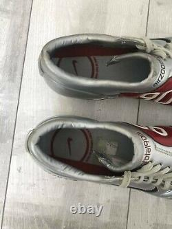 Nike Air Zoom Total 90 III FG Silver Soccer Football Cleats Size US12 UK11 RARE