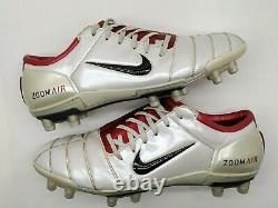 Nike Air Zoom Total 90 III Fg Uk 11 Us 12 Football Boots Soccer Cleats