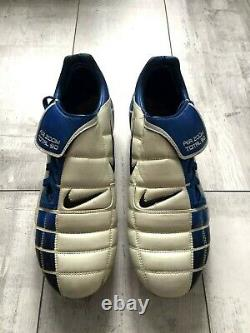 Nike Air Zoom Total 90 SG Football Soccer Cleats US12 UK11 EUR46 Italy Figo