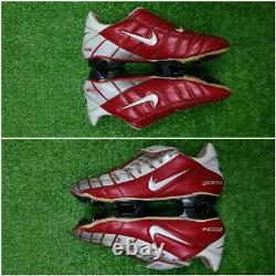 Nike Air Zoom Total 90 Vapor Supremacy Football Cleats Boots Red US 9.5 UK 8.5