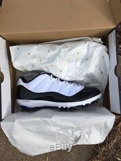 Nike Jordan Concord Xi 11 Golf Shoes Football Cleats. Size 13 New. Modified