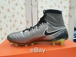 Nike Magista OBRA FG Mens Football Boots Soccer Cleats black white 100%Authentic