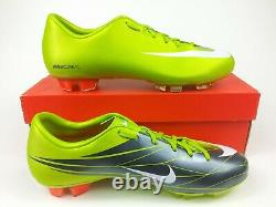 Nike Men Rare Mercurial Miracle FG 396131 311 Green Soccer Cleat Football Boots