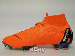 Nike Mercurial Superfly 6 Elite Fg Uk 10 Us 11 Football Boots Soccer Cleats