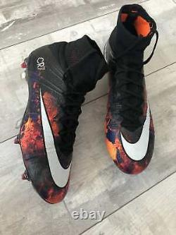 Nike Mercurial Superfly CR7 Savage Beauty ACC Football Cleats Boots US8.5 Carbon