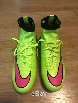 Nike Mercurial Superfly FG Soccer Football Cleats Boots Size 6.5 US