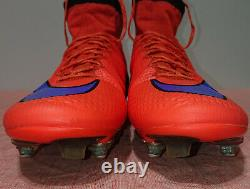 Nike Mercurial Superfly IV Sg-pro 641860-650 Soccer Cleats Football Boots Us 7.5