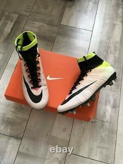 Nike Mercurial Superfly SG-PRO Football Soccer Cleats Boots Carbon US8 UK7 EUR41