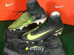 Nike Mercurial Superfly V CR7 FG Soccer Cleats Football Boots Seaweed Volt Bag