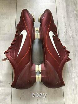 Nike Mercurial Vapor II Football Cleats Rare Red Boots US12 UK11 EUR46 Italy