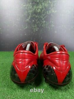 Nike Mercurial Vapor IV Football Boots Size UK 8 US 9 RARE Red Carbon SG Cleats