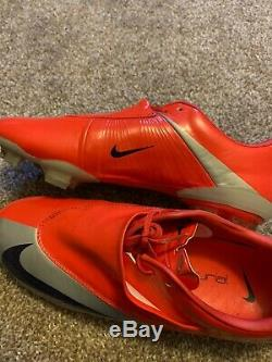 Nike Mercurial Vapor Red Us Size 8 Fg Soccer Football Boots Cleats