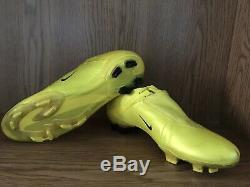 Nike Mercurial Vapor V FG Soccer Football Boots Cleats Yellow US Size 8.5
