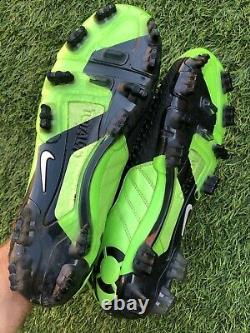 Nike T90 Total 90 Laser III Elite FG Soccer Cleats Football Boots Size 9.5US