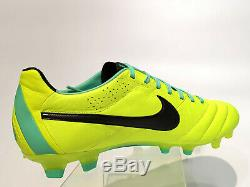Nike Tiempo Legend IV Fg Uk 10,5 Us 11,5 Football Boots Soccer Cleats