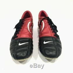 Nike Total 90 III FG Rare Soccer Football Cleats Boots Size 12 Black Red