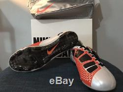 Nike Total 90 Laser Elite FG US Size 10 Soccer Football Boots Cleats Air Zoom