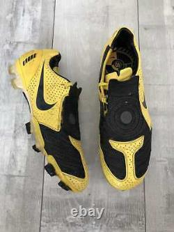 Nike Total 90 Laser FG Yellow Football Soccer Cleats US9.5 UK8.5 EUR43