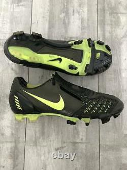 Nike Total 90 Laser II FG Football Cleats Soccer Black Boots US8.5 UK7.5 Limited