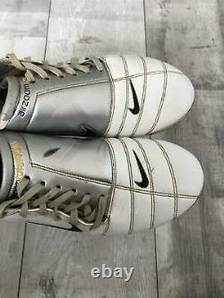 Nike Total 90 Zoom Air FG White Cleats Football Boots Made in Italy US10
