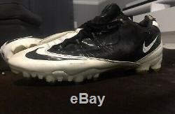 Nike Vapor Carbon Fly TD Zoom Football Cleats Black White size 11 REFURBISHED