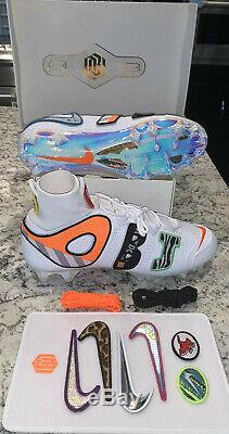 Nike Vapor Untouchable Pro 3 Carbon OBJ Football Cleat Size 13 2-Day Shipping