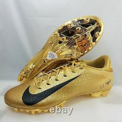 Nike Vapor Untouchable Speed 3 Football Cleats (Mens Size 12) Gold 917166-700