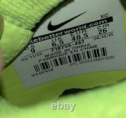 Nike Womens Us Size 9, Mens 7.5 Superfly Mercurial Vapors Soccer Football Cleats