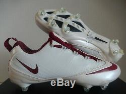 Nike Zoom Vapor Carbon Fly Td Flywire Football Cleats White Sz 12 456171-991