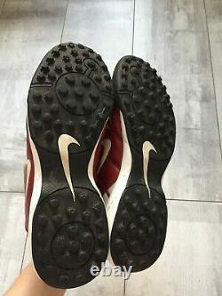RARE Nike Total 90 Indoor Soccer Football Cleats Red US 10 UK 9 EUR 44