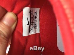 The Nike Premier II FG Soccer Football Cleats Mens 9.5 US Red 917803 616 NEW