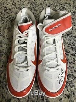 Tim Tebow signed Nike Superbad cleats Florida Gators New York Mets PSA/DNA