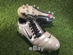 Bnibwt Nike Air Zoom Total 90 III Fg Pro T90 Football Bottes / Chaussures De Football Uk8