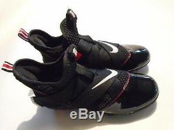 Nike Lebron Soldier 12 Grève De Football Ohio State Taille Homme 9 Crampons Cd4525-001