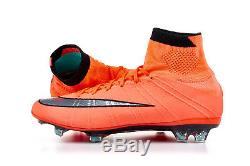 Nike Mercurial Superfly Fg Taille Uk 8 Eur 42.5 Chaussette Football Bottes Soccer Cleats