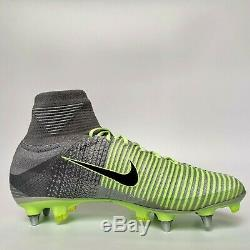 Nike Mercurial Superfly V Sg-pro Uk 8,5 Nous 9,5 Chaussures De Football Crampons Football