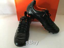 Nike Tiempo Legend IV Fg Blackout Hommes Football Football Crampons Fg Taille 9.5