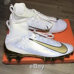 Nike Vapor Intouchable Pro 3 Prm Football Crampons Aq0634-007 Or Taille 9