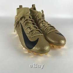 Nike Vapor Intouchable Pro 3 Prm Football Crampons Taille Hommes 14 Or 917165 700