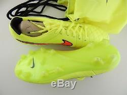 Nouveau Nike Tiempo Légende V Football Football Crampons Neon Mens Taille 11 Fast Ship