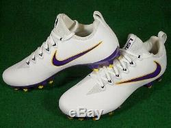 Nouveau Nike Vapor Pro Low Td Intouchable Lsu Tigers Team Issue Football Crampons 12.5